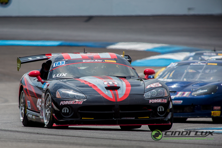 Cindi Lux - Cindi Makes 2018 Debut at Indianapolis Trans Am Race